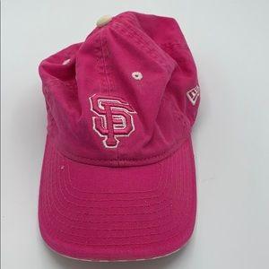 New Era MLB San Francisco Giants Child pink hat
